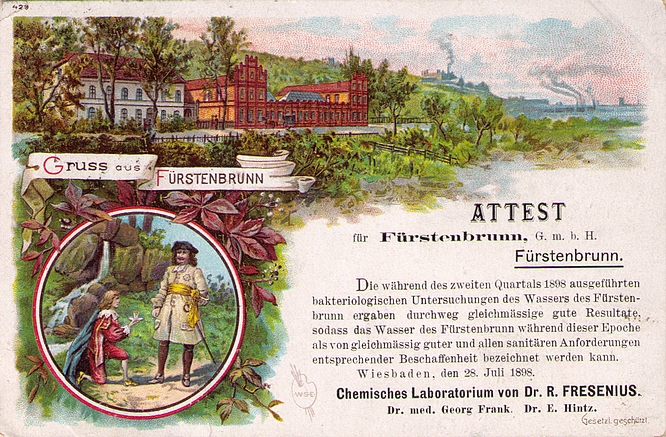 Litho Frstenbrunn Quelle, Berlin