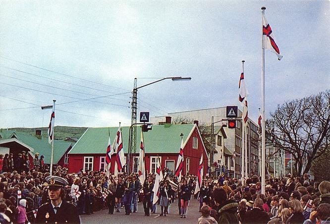 Góða Ólavsøku! (Gute Ólavsøka!)