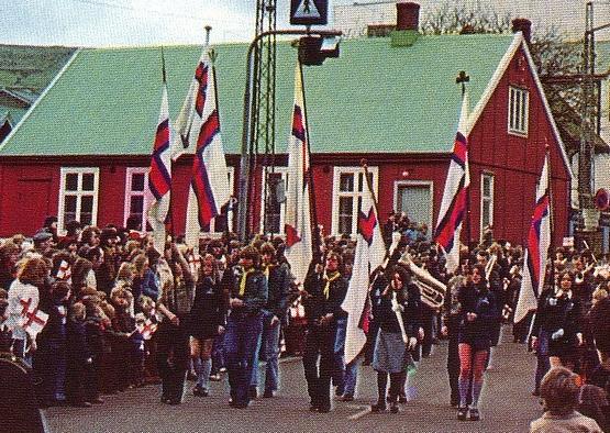 Die Ólavsøka und Scouts