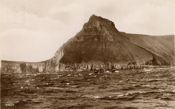 Insel Viðoy anno 1939