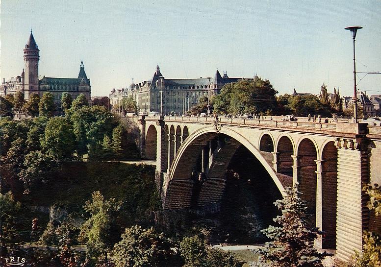 Adolphbrücke in Luxemburg